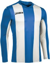 Футболка игровая JOMA CAMISETA PISA ROYAL-BLANCO M/L