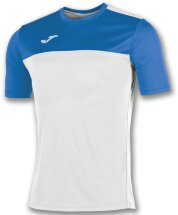 Футболка игровая JOMA CAMISETA WINNER BLANCO-ROYAL M/C