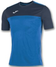 Футболка игровая JOMA CAMISETA WINNER ROYAL-MARINO M/C