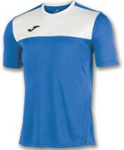 Футболка игровая JOMA CAMISETA WINNER ROYAL-BLANCO M/C